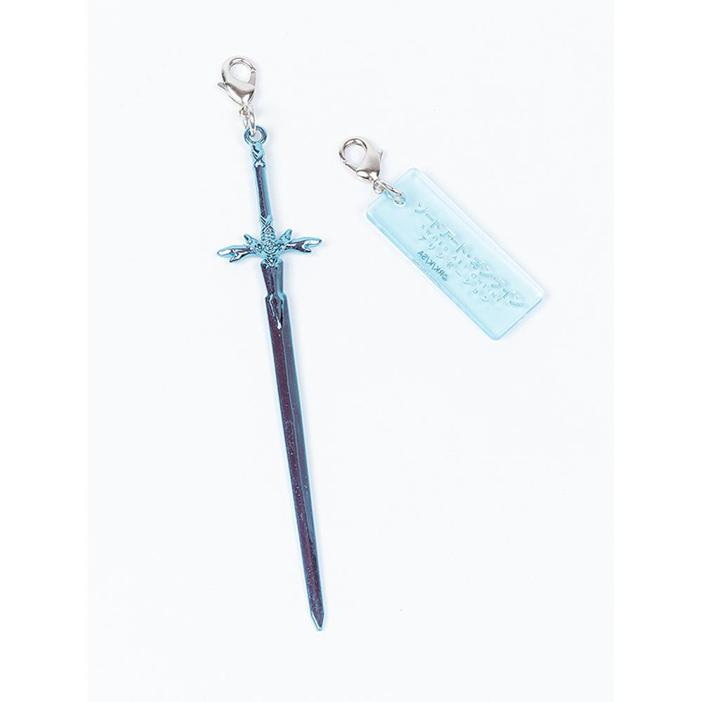 Sword Art Online: Alicization Metal Charm Collection - Blue Rose Sword
