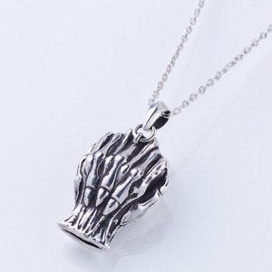 The Lord of Dawn - White Whistle Silver Necklace