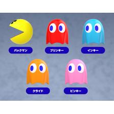 PAC-MAN Cable Mascots