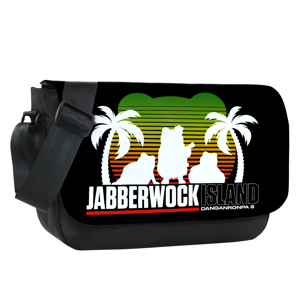Jabberwock Island Vacation Messenger Flap