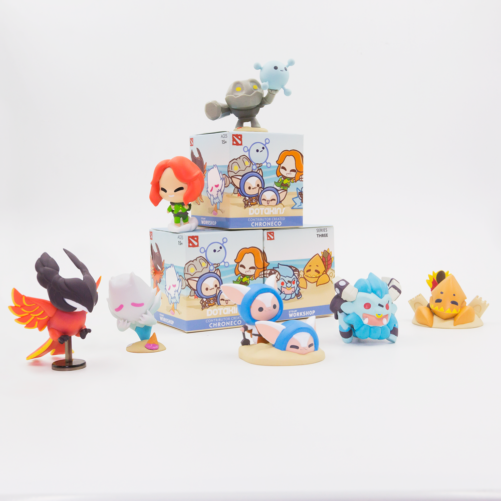 Dotakins Blind Box Vinyl Series 3