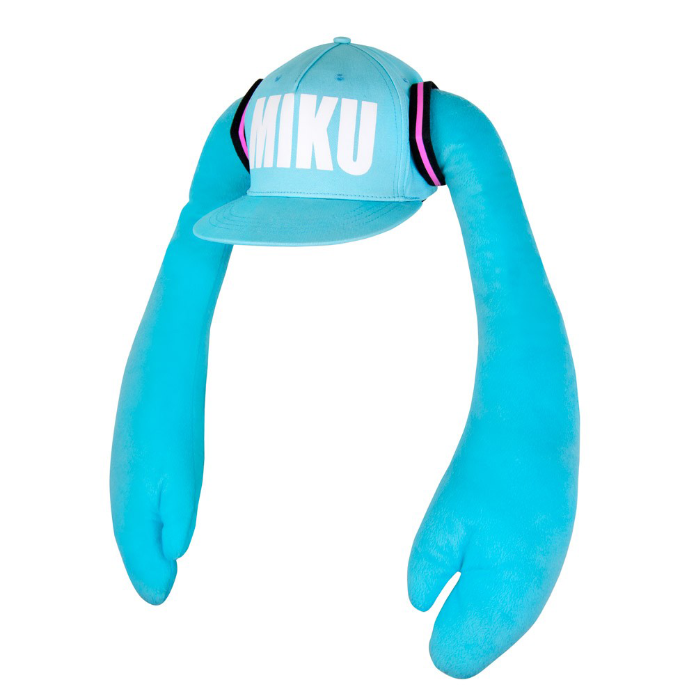 Hatsune Miku Hat with Pigtails