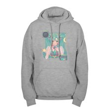 SPACE MUSIC Pullover Hoodie