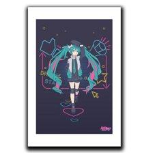 Digital Stars Art Print