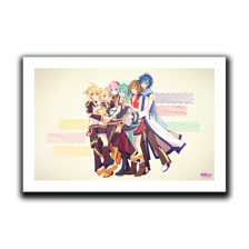Piapro Family Hug Art Print