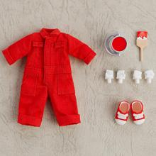 Nendoroid Doll: Outfit Set (Colorful Coveralls - Red)