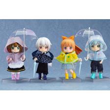 Nendoroid Doll: Outfit Set (Rain Poncho - White)