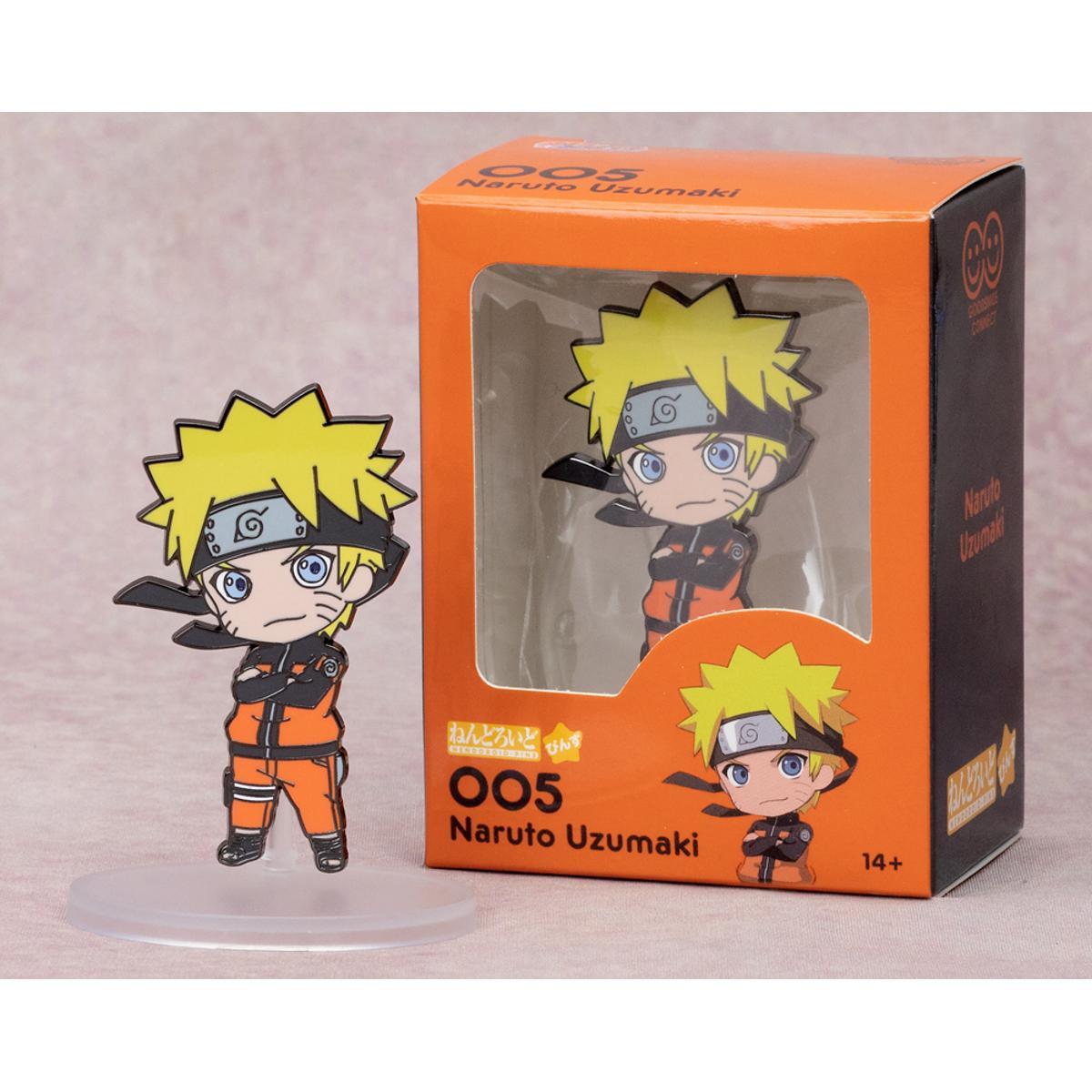 Nendoroid Pin Naruto Uzumaki