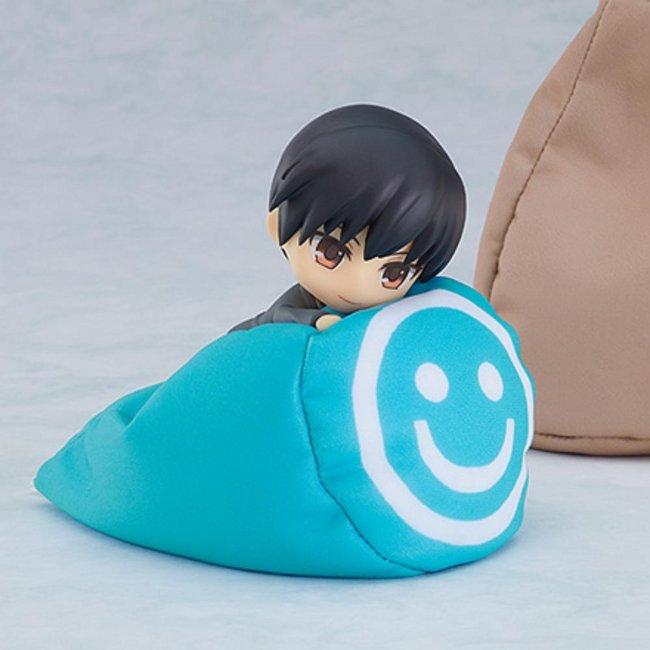 Nendoroid Bean Bag Chair: Brown/Light Blue/Cream Yellow