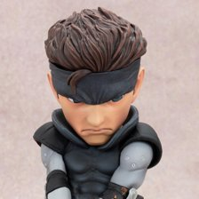 Metal Gear Solid: Solid Snake SD 8 Statue