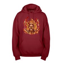 Burning Yang Pullover Hoodie