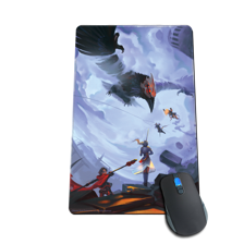 Red Like Roses Mousepad