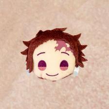 """Charamaru """"Demon Slayer: Kimetsu no Yaiba"""" Mascot Badge A: Tanjiro Kamado"""