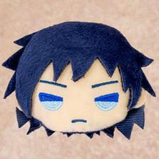 """Charamaru """"Demon Slayer: Kimetsu no Yaiba"""" Mascot Badge F: Giyu Tomioka"""