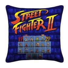 Ultra Street Fighter 2 Advance Pillow Case