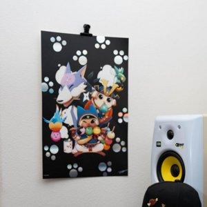 Dango Party Premium Foil Poster